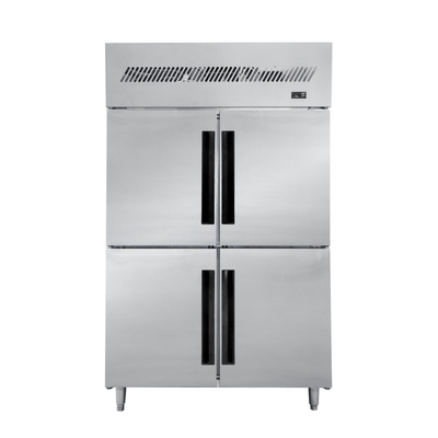 Professional Custom Kitchen Refrigerator Working for Temperature Is -18~-22°C with High Efficiency Finned Copper Evaporator
