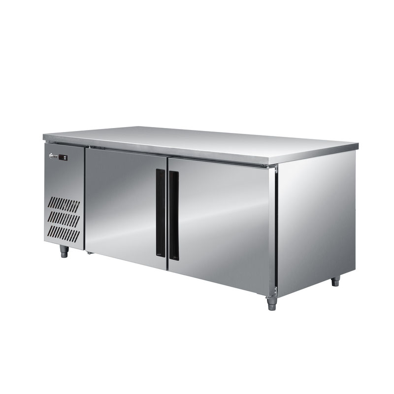Multi-style Hotel Restaurant Kitchen Refrigerator for Refrigerated Food with Stainless Steel Exterior/interior