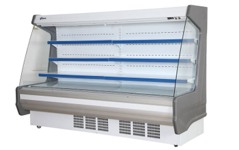 Vertical Freezer Structure Features